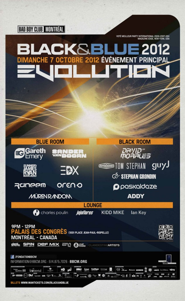 EVOLUTION 2012, the BLACK & BLUE Festival's main event – 22nd Edition