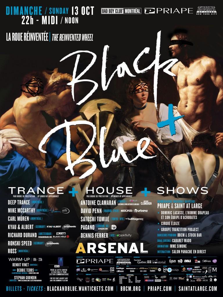 Black & Blue 2013 Poster