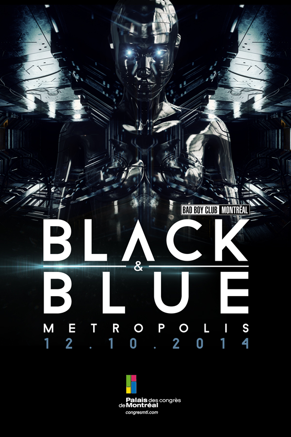 BLACK & BLUE 2014 : INSPIRATION METROPOLIS