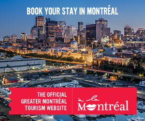Black & Blue 2014 is supported by Tourisme Montreal and Tourisme Quebec