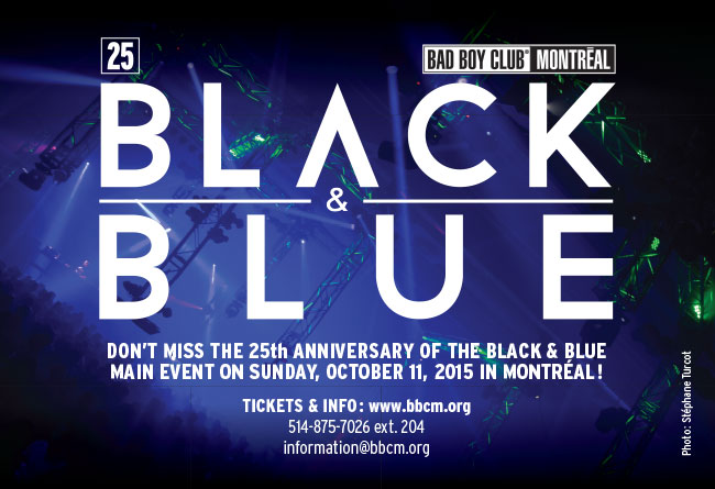 Le 25ème anniversaire du Festival Black & Blue