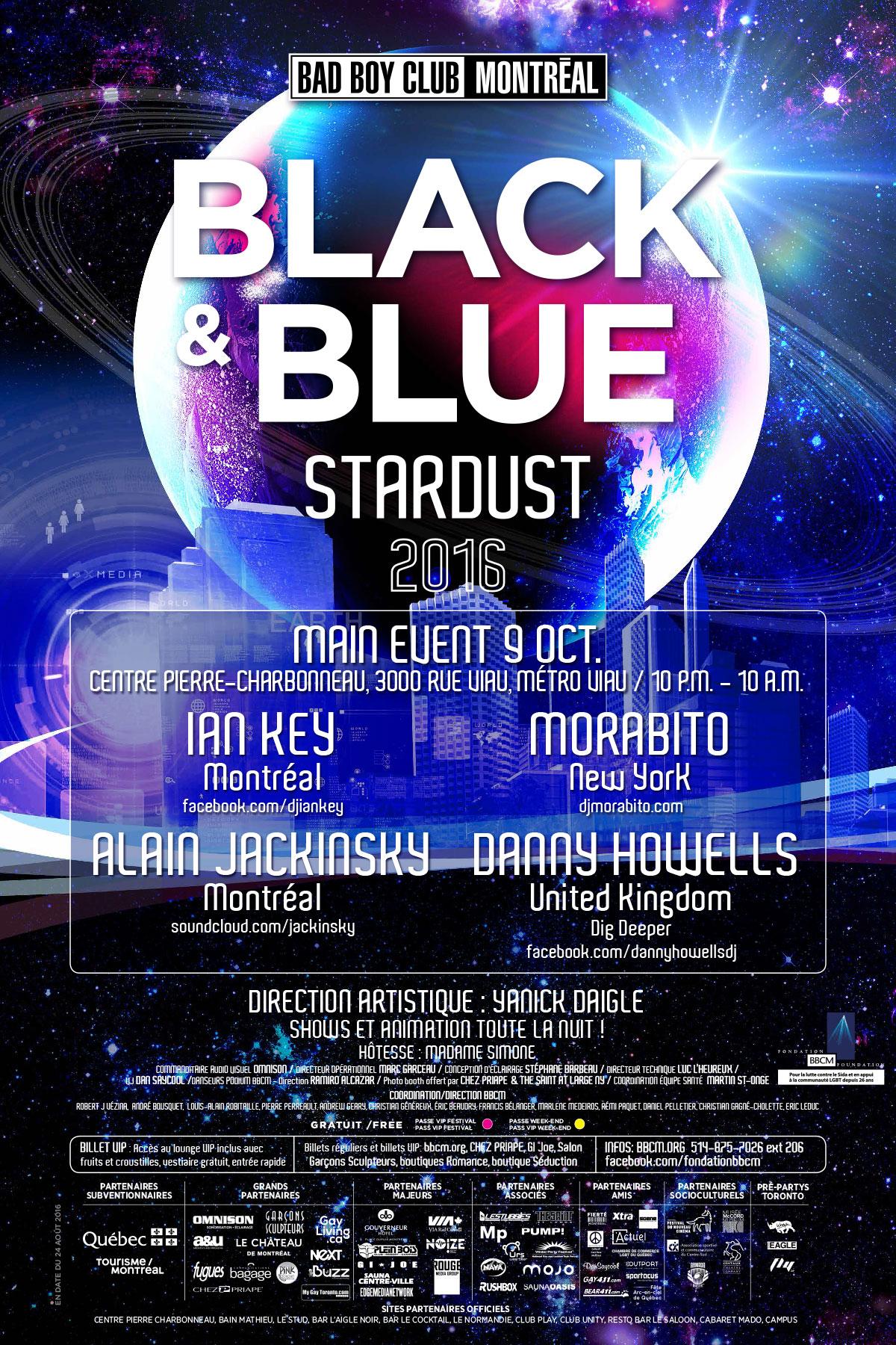 Black & Blue 2016 Poster