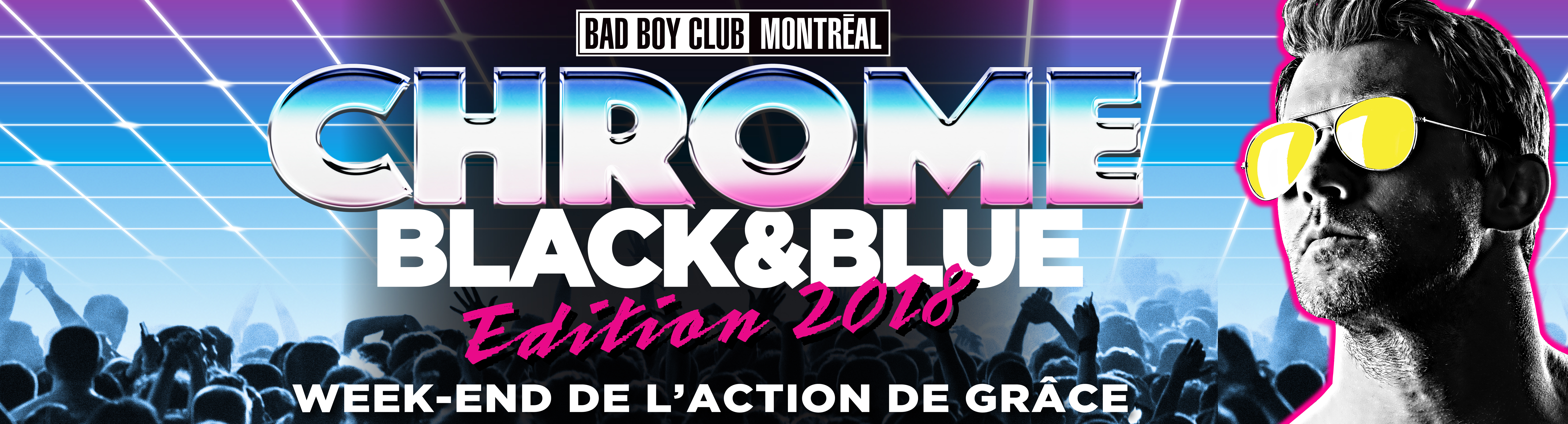 Black & Blue CHROME Édition 2018