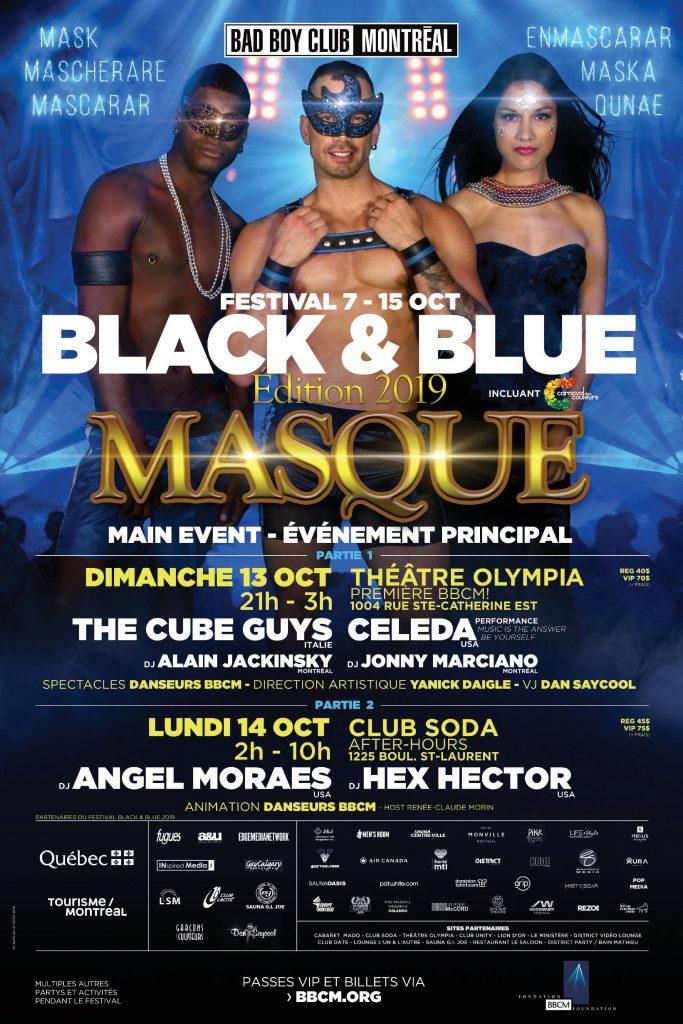 Le magazine Black & Blue 2019 avec toute la programmation des événements est maintenant disponible !